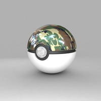 pokemon ball safari 3d max