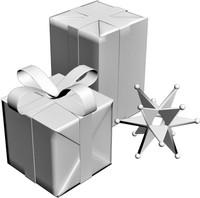 3d present box