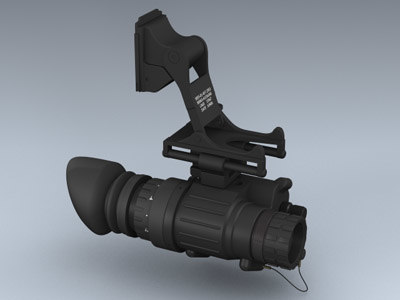 pvs-14 night vision 3d max - AN/PVS-14 Night Vision System... by Mesh Factory
