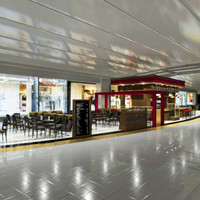 3dsmax airport bar restaurant