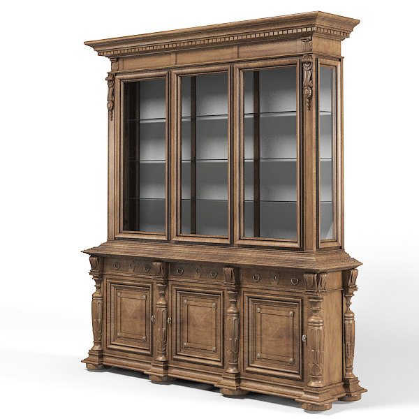 classic traditional buffet sideboard cupboard showcase cabinet dining.jpg