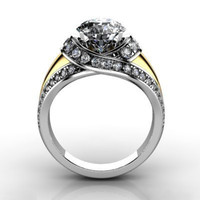 3d engagement ring model