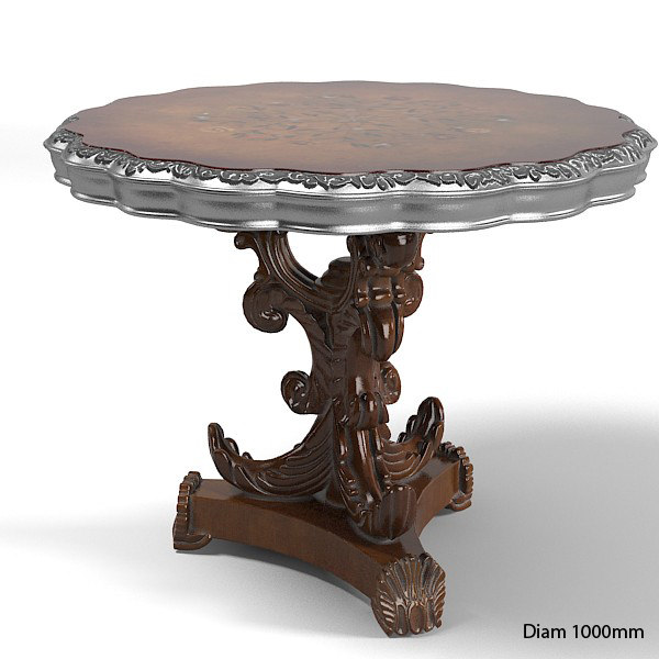 jumbo collection classic baroque roccoco side end lamp coffee  cocktail round dining game card  tabe .jpg