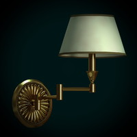 3d model of lamps sconce