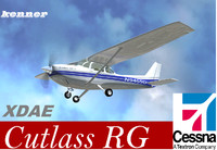 cessna 172 cutlass 3d model