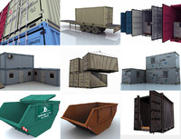 3d 8 products containers