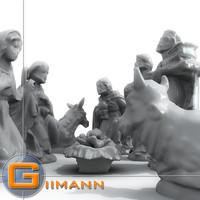 Nativity Props