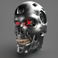 maya t-800 skull