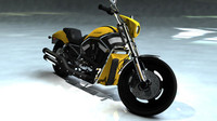3d motorbike harley davidson