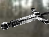 sword cutting blend