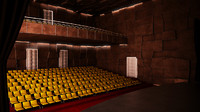 auditorium audit 3d model