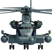 3d model sikorsky ch-53e super stallion