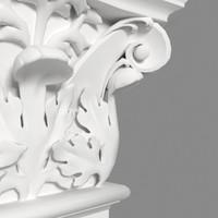 3d corinthian pilaster