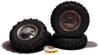 3d model military tires wheels