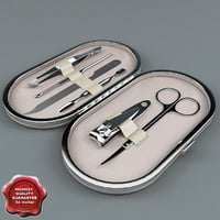 manicure set 3d 3ds