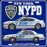 NYPD car collection