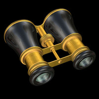 3ds max opera glasses mini