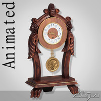 Table Clock 3 Animated
