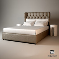 3d meridiani loren bed