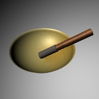 Tibetan Singing Bowl w/ stick