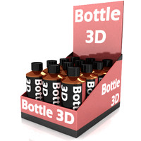 3d bottle display