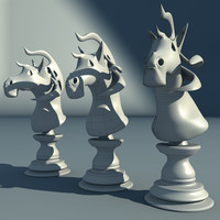 obj chess knight