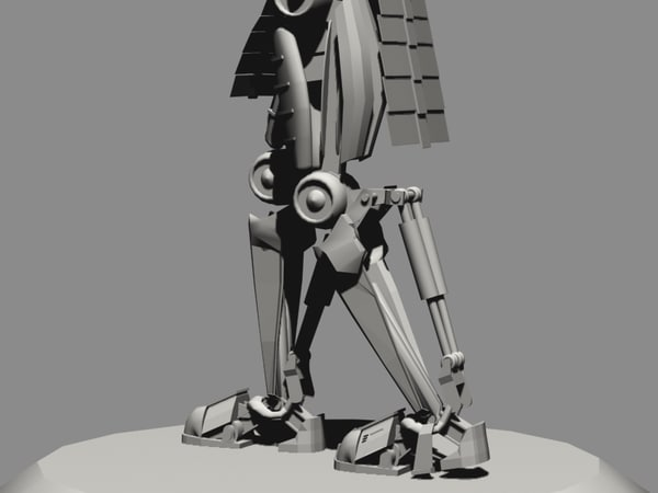 3d model cylon fighter commander - Cylon Fighter and Commander... by 3D.A.G