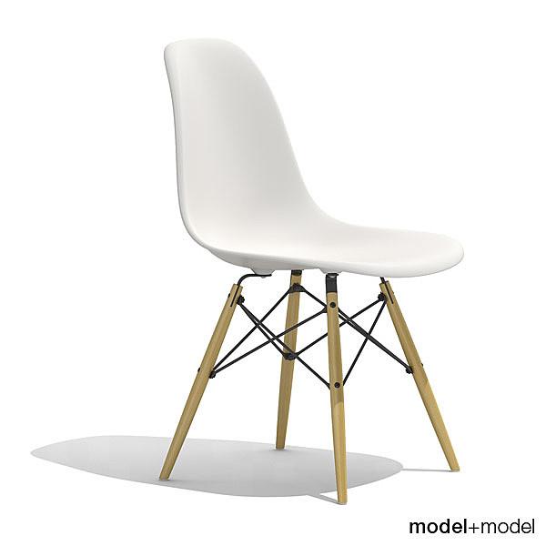 Eames Plastic Chair Dsw 3d Max