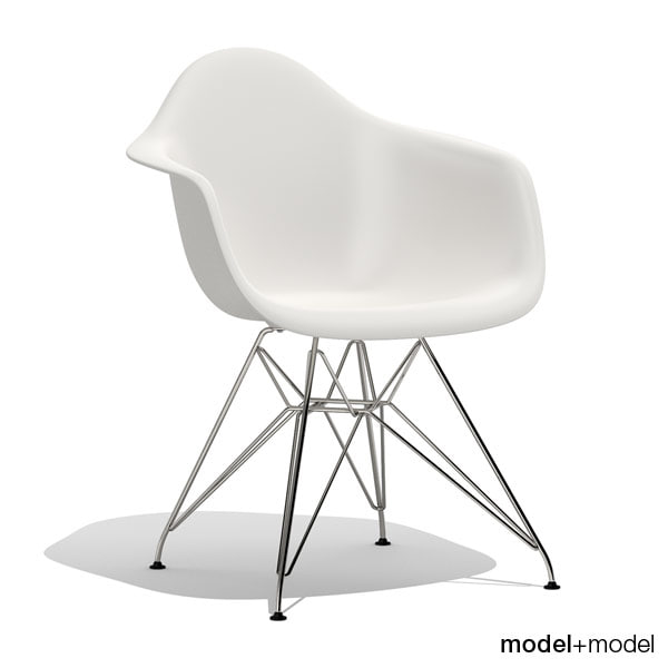 3d model eames plastic armchair dar for Icon mobel eames
