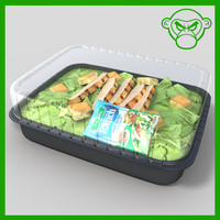 grilled chicken salad 3ds