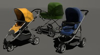 3d pram collections - model