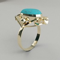 max ring turquoise