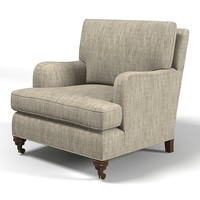 Monte Allen classic traditional  MODERN ENGLISH ARM CHAIR # 134