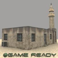3dsmax iongfx somalia mosque building