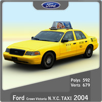 2004 Ford Crown Victoria NY Taxi