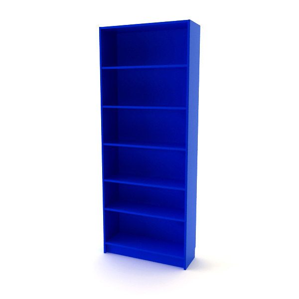 3ds ikea billy bookcase for Ikea blue billy bookcase