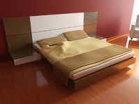modern bed max