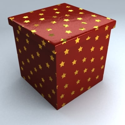 Cristmas BOX Quad Red Stars Simple 01.jpg