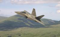 f-22 fighter 3d model