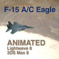 F-15 A/C Eagle - Loaded Out - Animated for LW and Max