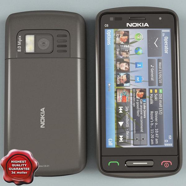 Nokia C6-01 grey