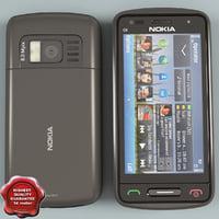 3ds max nokia c6-01 grey