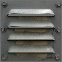 3dsmax exhaust ventilation slat