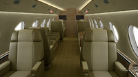 Single seat for corporate jets and commercial jets