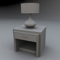 maya lamp table