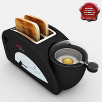 3d model tefal toast n egg