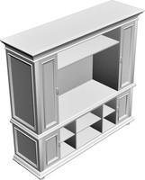 cabinet 3d obj