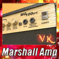 Marshall 100w - High detailed.