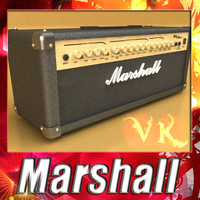 Marshall Amplifier MG series - High Detailed
