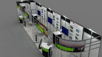 Dream Hill Hotel exhibition stand design